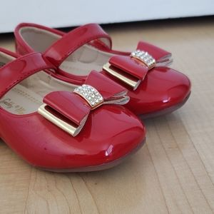 Baby Size 5 Gabby Marie Red Shoes